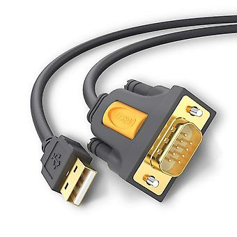 Cable serie Ugreen 20210 usb, usb a rs232 db9 9 pin converter cable 1m para conectar el router Cisco