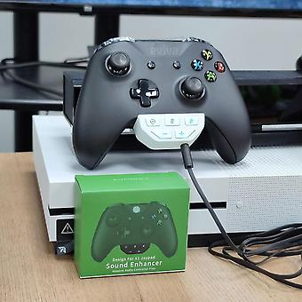 Xbox One Wireless Controller Stereo Headset Adapter For Joystick Audio
