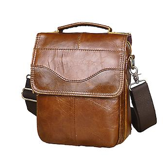 Leather Casual, Shoulder Messenger & Cowhide Cross-body, Tote Mochila Satchel