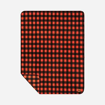 Slowtide Yukon Beach Reversible Blanket Towel - Red Black