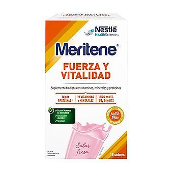 Meritene Strawberry Shake 15 packets of 30g