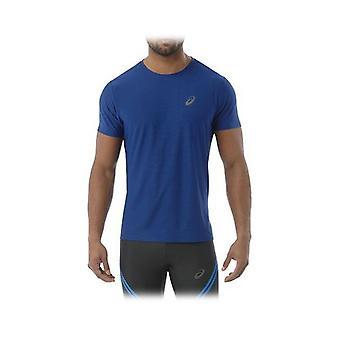 Men's Short Sleeve T-Shirt Asics E LIIN SLIM T Blue