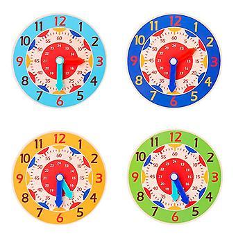 Horloge en bois d'enfants, éducation