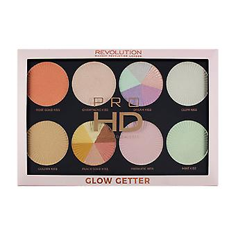 3 x Revolution London Glow Getter Pro HD -paletti
