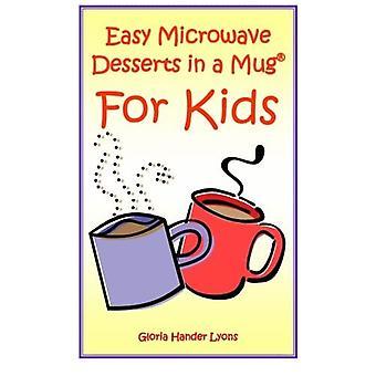 Nemme mikrobølgeovn desserter i et krus til børn