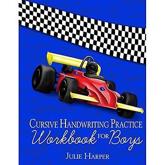 Cursive Handwriting Practice Workbook for Boys
