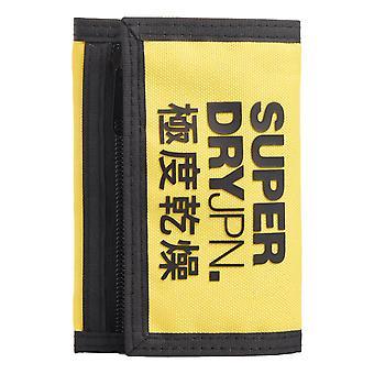 Superdry Tri-Fold Wallet - Nautical Yellow