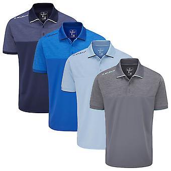 Stuburt Golf Mens 2021 Shipley Breathable Moisture Wicking Summer Golf
