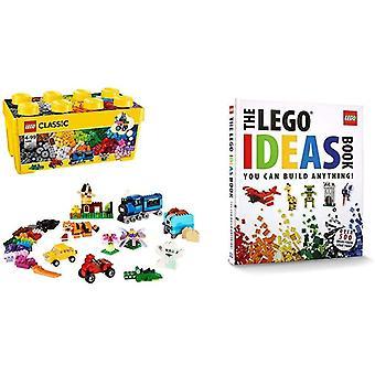LEGO 10696 Classic Medium Creative Brick Box, Easy Toy Storage, Masters Fan Gift &amp