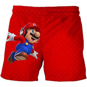 Hauska 3d Mario Bro sarjakuva kesä shortsit (set-1)