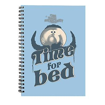 The Magic Roundabout Zebedee Time For Bed Spiral Notebook