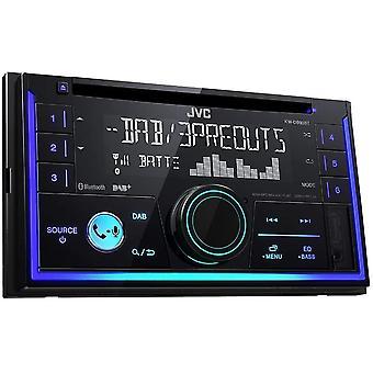 Wokex KW-DB93BT Doppel-DIN CD-Receiver mit Digitalradio (DAB+), Bluetooth-Freisprechfunktion und