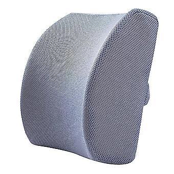 Comfortable memory foam lumbar back pillow support back cushion home office car seat cushion set