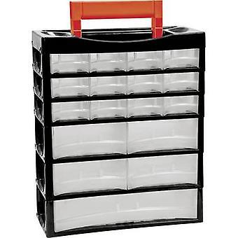 Alutec 66013 Assortment case No. of compartments: 17 1 pc(s)