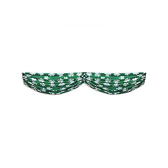 Guirlande verte motifs trèfles 150 cm