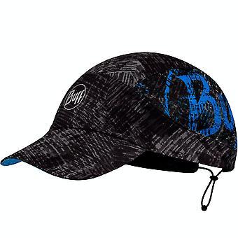 Buff Aikuiset Rush Heijastava Pakkaus Juokse ulkona Käynnissä Baseball Cap Hattu - Musta