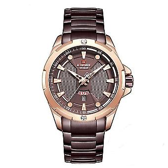 Classic Fashion Men Business Watch Luxury(Red)