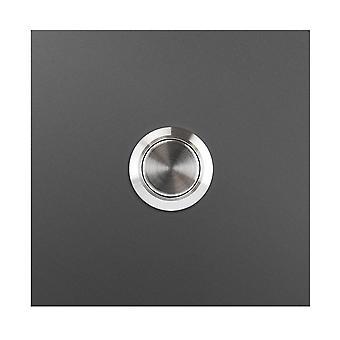 MOCAVI RING 110 Design klocka antracit järn glimt (DB 703) fyrkantig slät glansig