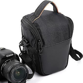 Outdoor casual triangle camera pack for sony canon one-shoulder storage bag