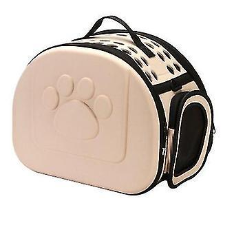 S 36 * 23 * 20cm sampanie in aer liber portabil pliabile sac de pisică pentru animale de companie az7657