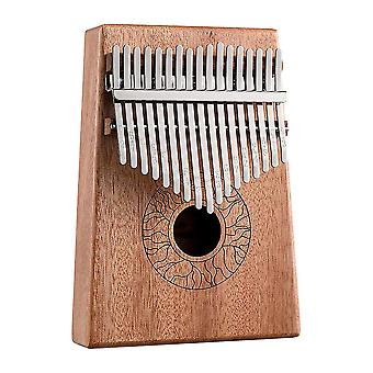 كاليمبا الإبهام البيانو الجديد 17 مفاتيح آلة موسيقية محمولة لمحبي الموسيقى ES9307