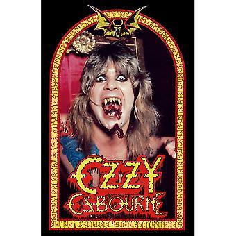 Ozzy Osbourne - Parla del poster tessile del diavolo