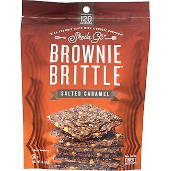 Sheila Gs Brownie Brittle Salt Crml, Case of 12 X 5 Oz