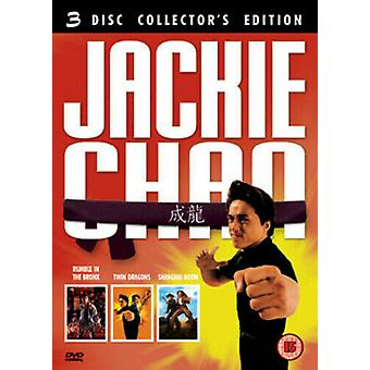 Jackie Chan Collection DVD (2005) Jackie Chan Dey (DIR) cert 15 3 discos Região 2