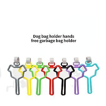7st hundväskahållare händer gratis avfallspåsebärare hållbar hundbajspåse