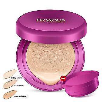 Moisturizing Revitalizing BB Cream Compact Foundation Bask Skin Care Body Glitter(Natural Color)