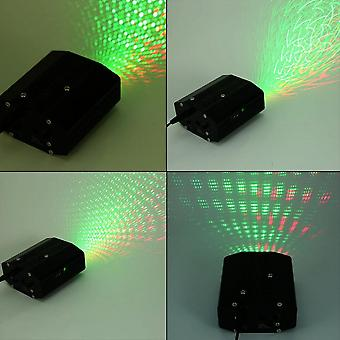 Led Laser Projector Stage Lighting Moving Dj Disco Party Remote Control