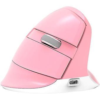Langaton peli hiiri pysty ergonomiset hiiret (vaaleanpunainen)