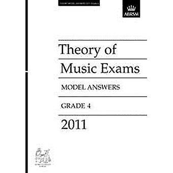 ABRSM Theorie Examens Model Antwoorden Graad 4 (2011)