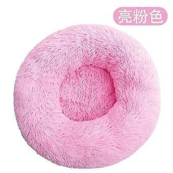 Pet Hund Bed Long Plys Super Soft Pet Bed Kennel Round Dog House Cat Bed For Hunde Bed Cushion Big