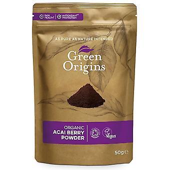 Organic Acai Berry Powder - 50 grams