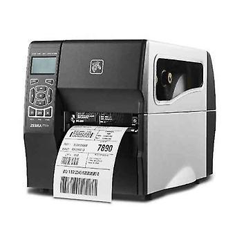 """طابعة التذاكر زيبرا TZT230 4 """"RS232 USB إيثرنت LAN 203 نقطة في البوصة أبيض / أسود"""