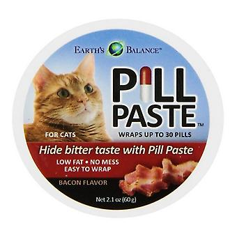 Marshall Earth's Balance Pill Paste Bacon Flavor for Cats - 2.1 oz