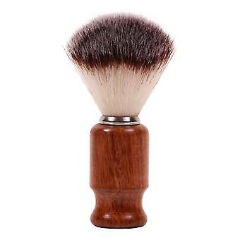 Dark Stag Barber Shaving Brush Synthetic Bristles