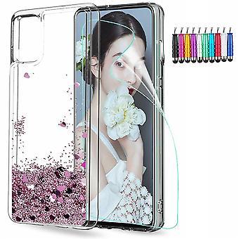 Huawei P40 Pro - Liquid Glitter 3d Bling Shell Case