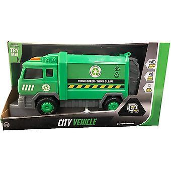 Speed Hub Green City Riciclaggio Camion della spazzatura