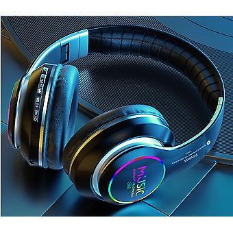 căști wireless Bluetooth Foldable LED Light 3D stereo gaming Earphone Bluetooth Earphones