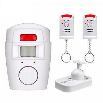 2 Remote Control Door Alarm, Swimming Pool Alarm Window Alarm, 105db Infrared Siren For Apartment Garage Office Home Security