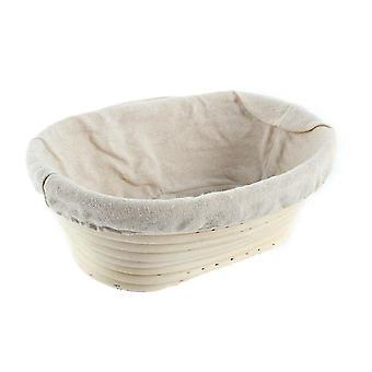 Boheemi rottinki luonnollinen ympäristöystävällinen ruoka korit (28x14x8cm)