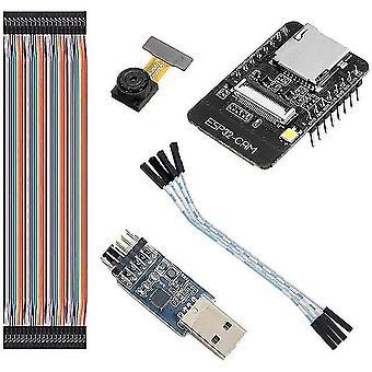 Esp32-cam wifi + módulo bluetooth módulo de cámara placa de desarrollo esp32 cámara ov2640 seriale ftdi