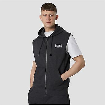 Lonsdale Mens Heavyweight Sleeveless Hoodie Hooded Neck Casual Sports Top
