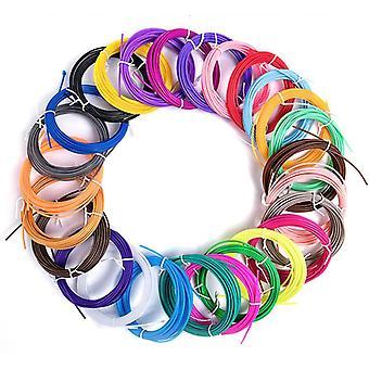 30 Colors Pla 3d Printing Pen Filament Refills