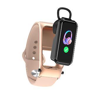 Smartwatch مع سماعة X4 نشاط تعقب اللياقة البدنية متوافقة مع نظام التشغيل IOS الروبوت
