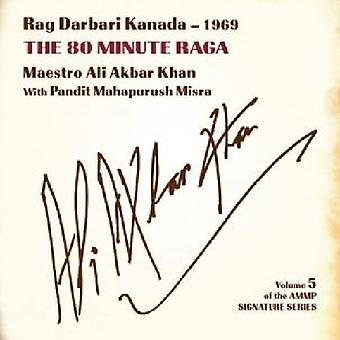 Ali Akbar Khan - Vol 5-Signature Series (Rag Darbari Kanada) [CD] USA import