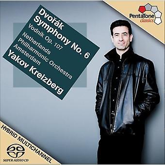 A. Dvorak - Dvor K: Symphony No. 6; Vodnik, Op. 107 [CD] USA import