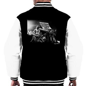 Die Ramones Gabba Gabba Hey Manchester Apollo 1977 Männer Varsity Jacket